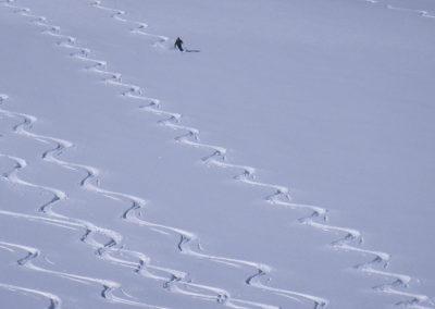 Sci alpinismo nella Meiental